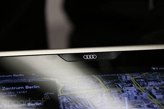 奥迪推出车载平板:Tegra 4/耐80度高温