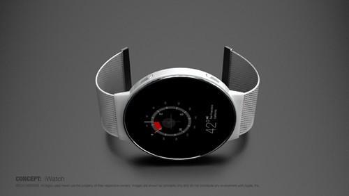 圆形表盘ios 8系统 iwatch概念设计图