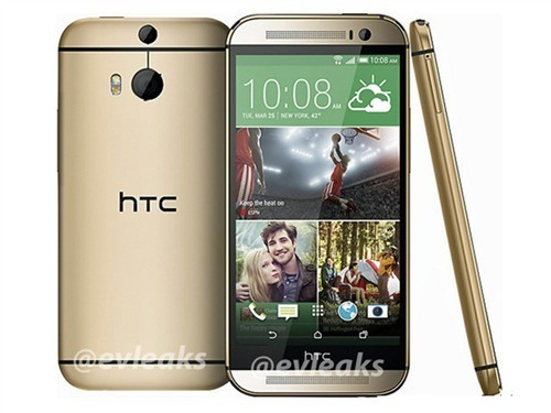 双摄像头/金属拉丝 HTC One 2曝光汇总