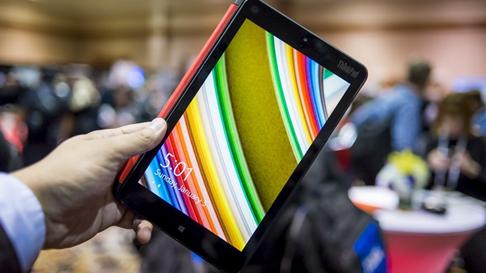 最快Win8平板ThinkPad8亮相2014MWC