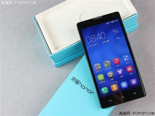 华为荣耀3C 1G RAM移动3G手机(白色)TD-SCDMA/GSM双卡双待单通非合约机手机