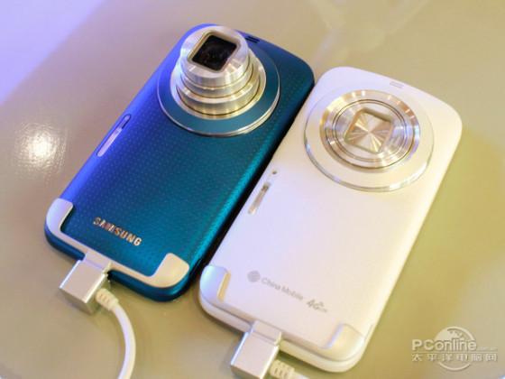 可通话相机再升级 三星Galaxy K Zoom试用