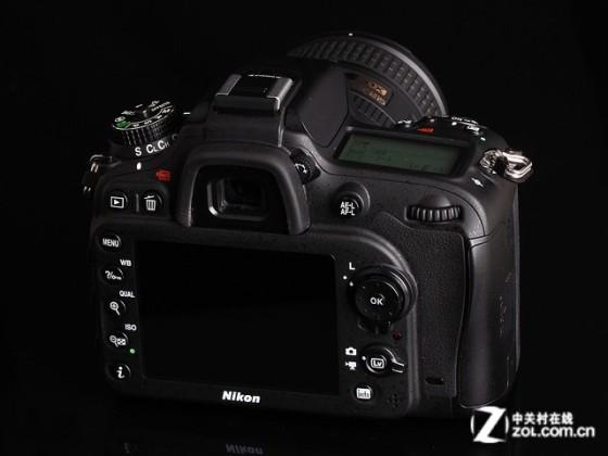 尼康 D7100黑色 背面图