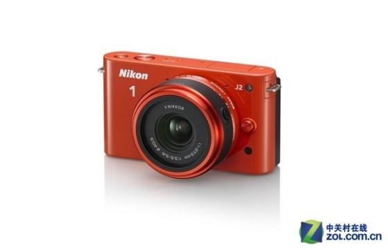 可换镜数码相机 尼康J2亚马逊促销中