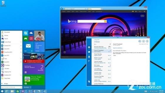Win9将采用Modern UI 2.0:新特性抢先看