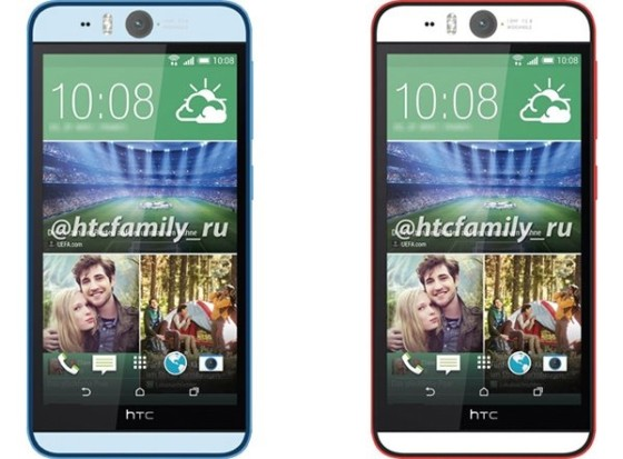 HTC自拍神器曝光:摄像头亮瞎眼