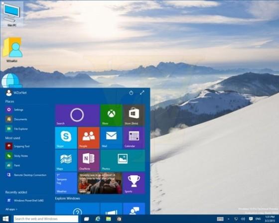 Windows10预览版10022更多截图泄露