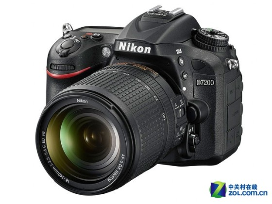 超高影像品质尼康D7200套机售8599元