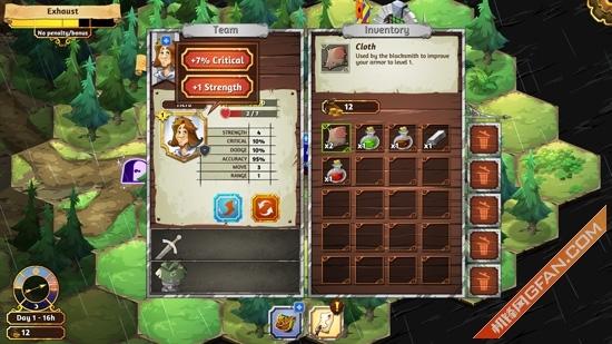 棋盘回合制策略RPG新作夺位者试玩体验