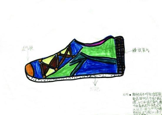 青少年创意设计大赛作品展示:多功能鞋图片