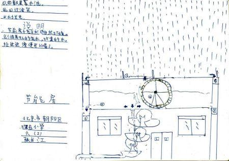 科技时代_青少年创意设计大赛作品:节能房图片