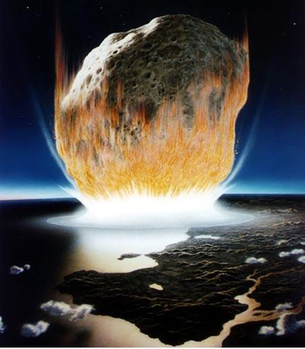 科技时代_研究显示致恐龙灭绝陨星远比预期小(图)