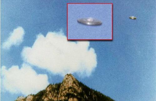 UFO经典照片 1981年加拿大不明飞行物