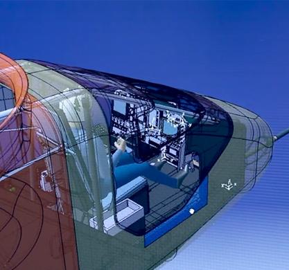 Solar Impulse设计图截图。