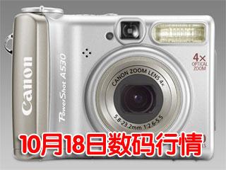 科技时代_18日数码行情:时尚轻便家用相机售1180元