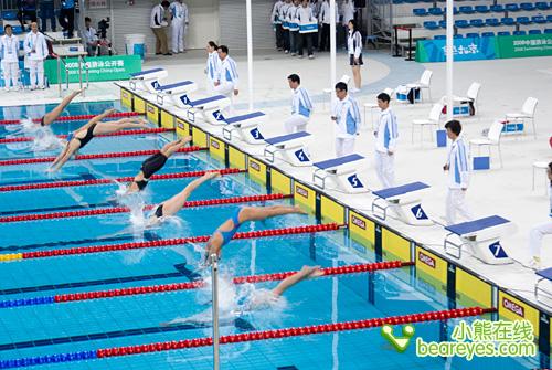 亲密接触水立方国家游泳馆观赛纪实