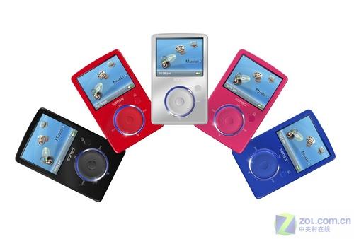 与Shuffle竞争SanDisk公布Fuze播放器