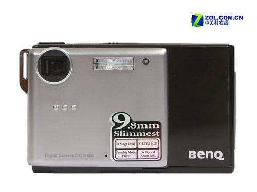 9.8mm金属薄锐明基多媒体卡片X800评测