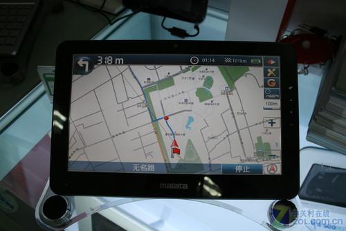 GPS上网上QQ万利达平板导航电脑新品