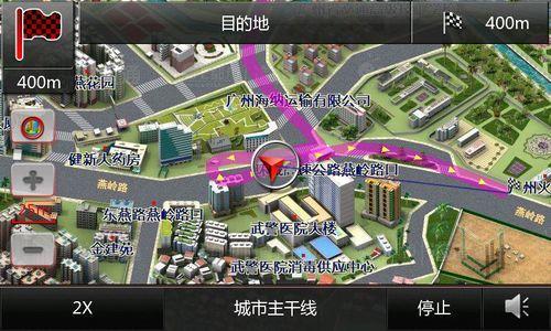 流科技ps图-3D实景城市的纳入,相对于之前的3D路口放大图,是质的变化,更进