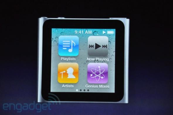 科技时代_苹果发布新款触摸屏iPod Nano