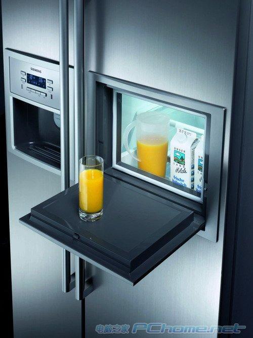 上海 高端/西门子整体式双开门KA60NA40冰箱