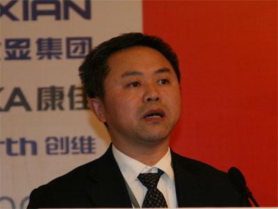 科技时代_图文:长虹多媒体产业公司副总经理陈宁致辞