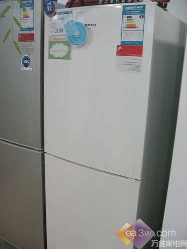 惊爆价西门子双开门冰箱仅售3180元