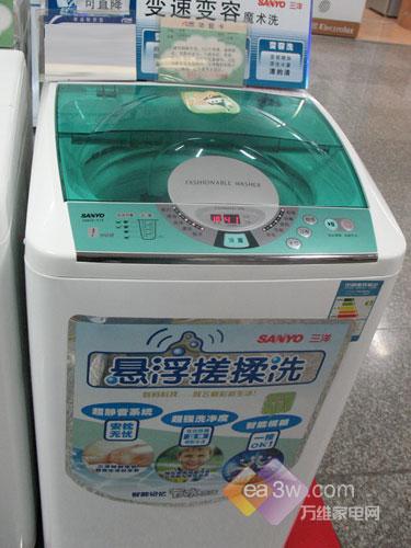 廉价首选三洋5公斤洗衣机仅售1498