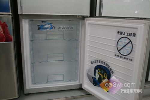 功能与时尚兼备松下变频冰箱热销