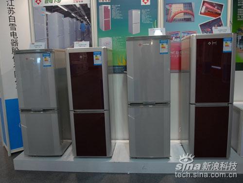 科技时代_直击08中国家电博览会:家电下乡冰箱产品展示