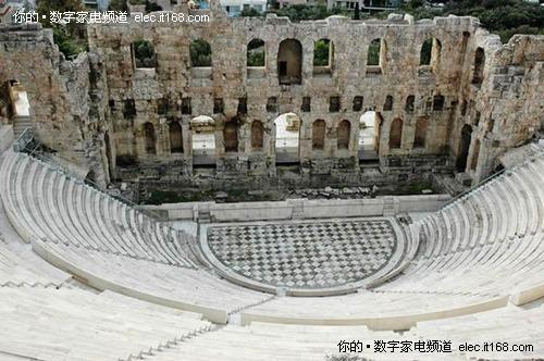 古希腊圆形剧场,旋木号角的设计起源