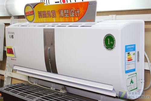 格力U酷空调特写-U系列超薄外观 格力大1P变频空调简评