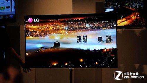 55寸超薄OLED电视LG旗舰新品亮相CES