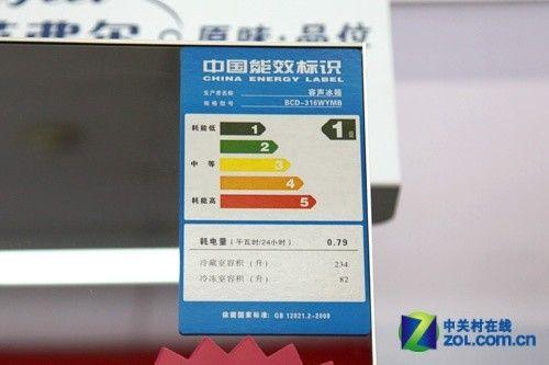 原生态果蔬室容声镜面三门京东5499元
