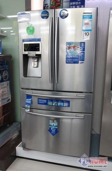 """无论是外观还是内部结构,冰箱也成为""""百变天后""""."""