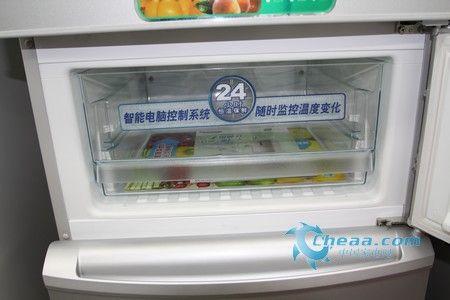纤细机身大容量松下茗悦三门冰箱热销