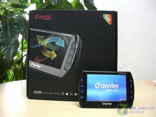 全真3D导航画面艾维特G601买就送大礼