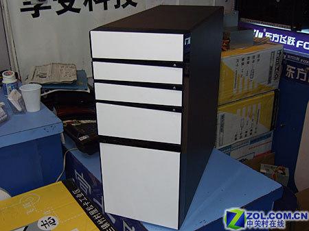 钢琴漆面板富士康免工具机箱仅350元