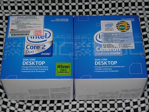 盒装双核处理器赛扬E1200售价不到500