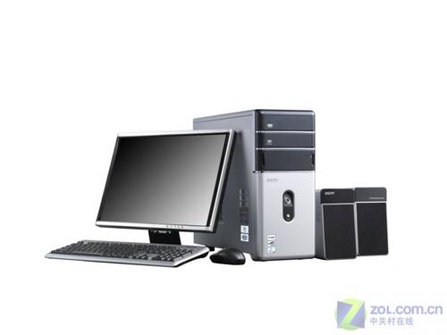250G硬盘七喜电脑双核液晶机4299元