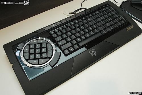 更酷更炫华硕版罗技G9现身CeBIT2008