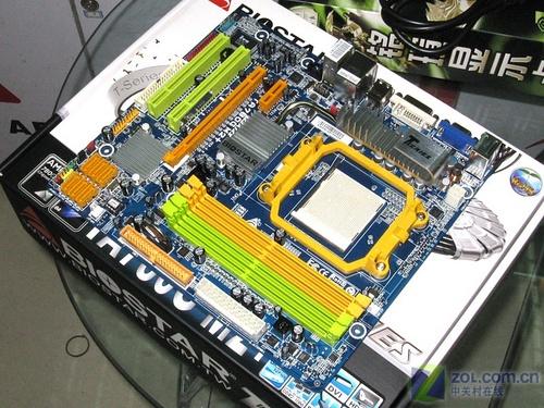 超频/游戏通吃映泰热管780G主板699元