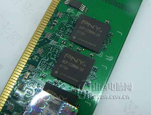市场最低价PNY2GB/800内存仅260元