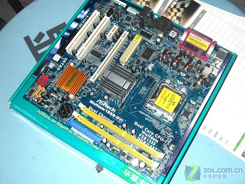 独立DVI视频卡45nm酷睿2图形主板399元