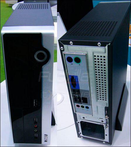 走在潮流前列富士康展示超酷mini-ITX机箱