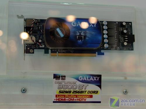 COMPUTEX2008:影驰9600GT2GB真卡曝光