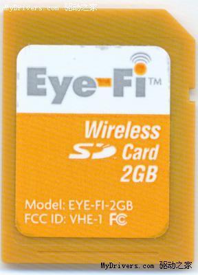 """带Wi-Fi功能的SD卡""""擒住""""窃贼"""