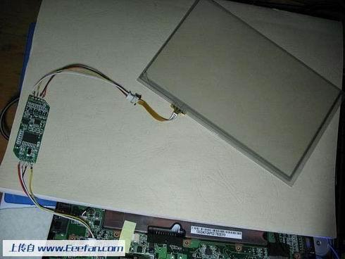 的屏,控制板的主板,连接上你的键盘(需要进入bios开启webcam)图片