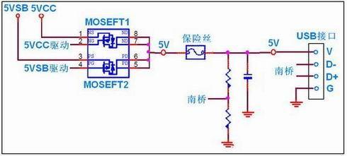 硬件 > 正文    供电电路的过电流和短路保护采用自恢复保险丝.